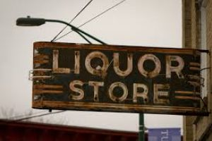 Liquore Store Sign